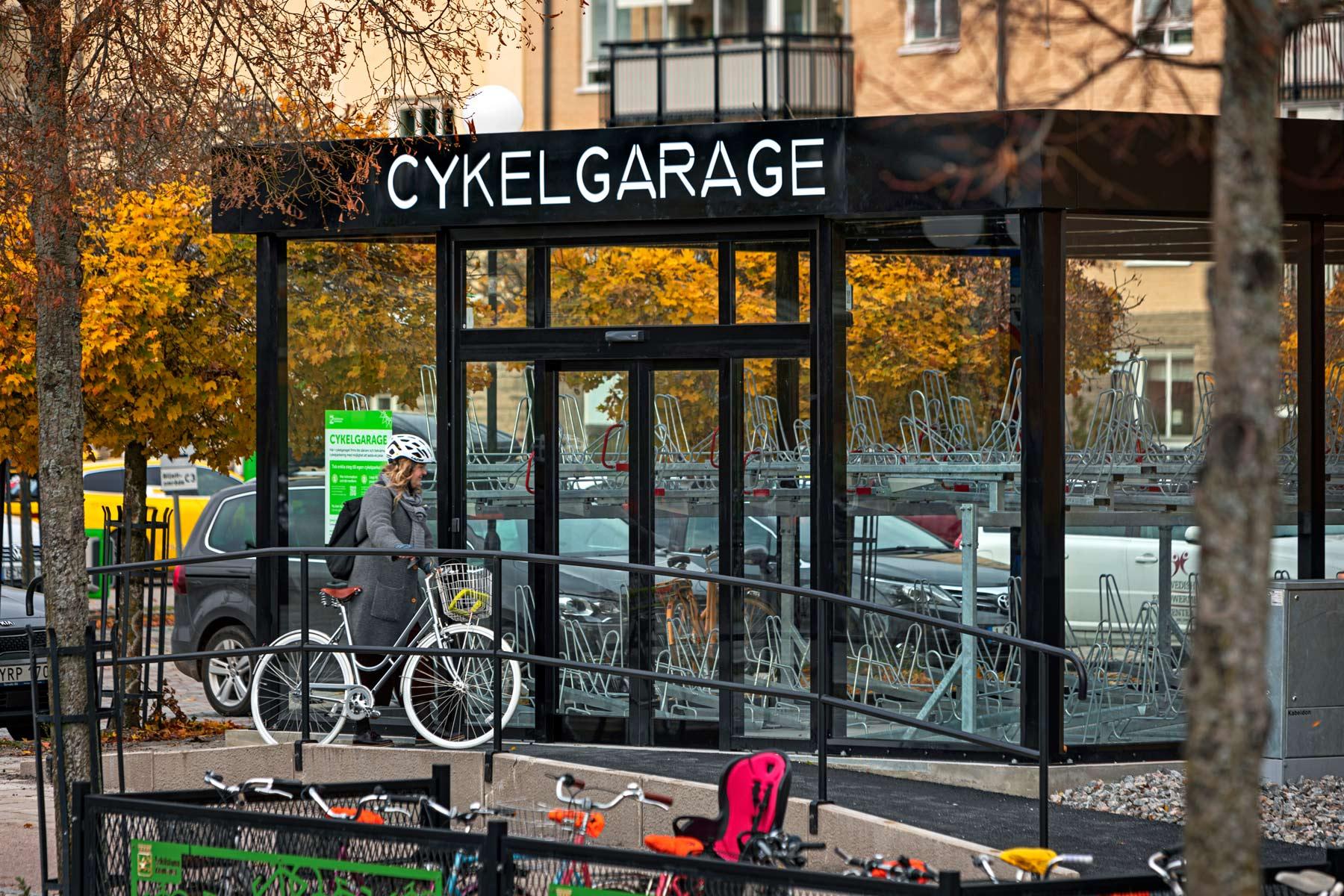 Pyörätalli Eskilstunassa
