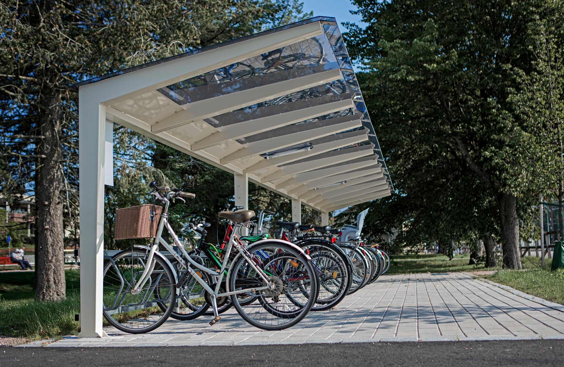 Design pyöräkatos