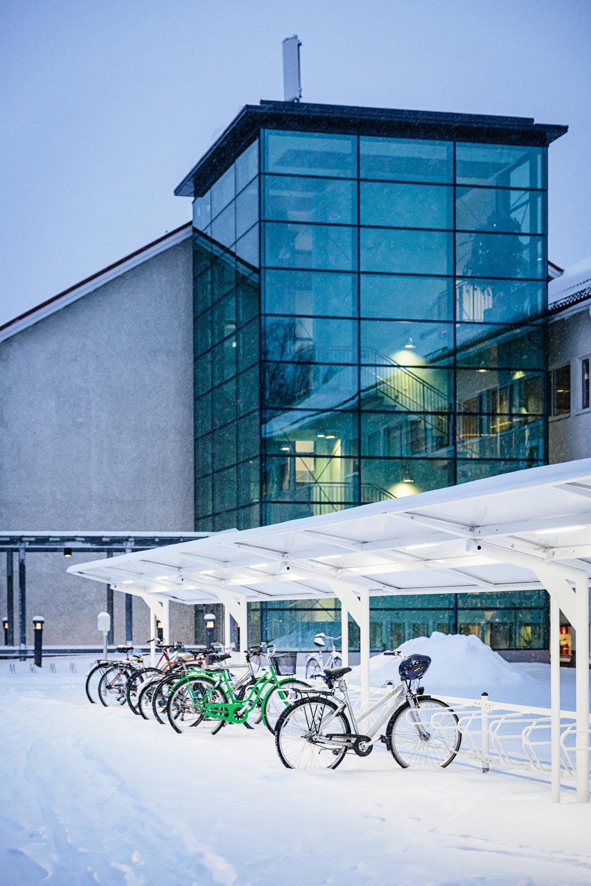 Pyöräkatos Oulussa