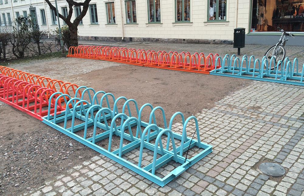 Mobilt Sykkelstativ ZETA-1
