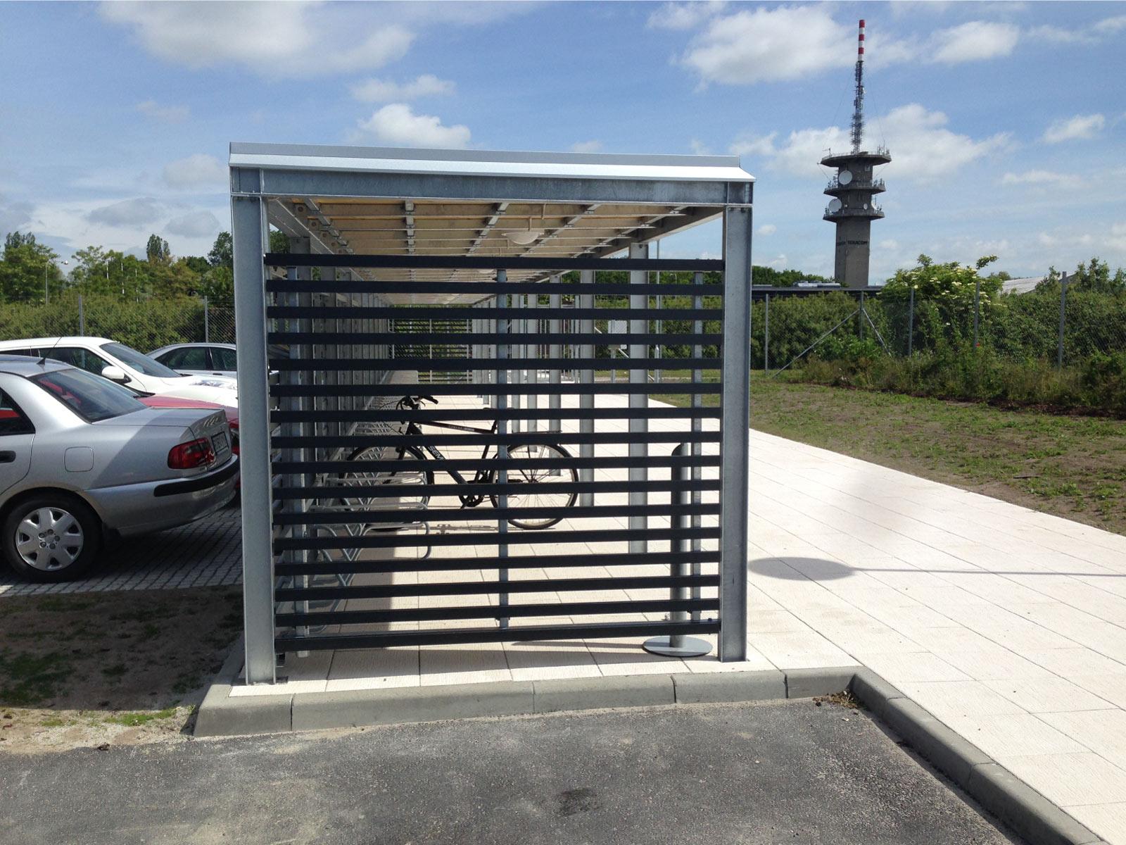 Cyklos busskur och väderskydd KEEP
