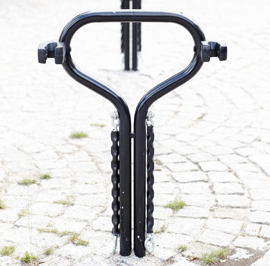 Cyklos BETA cykelpollare med kätting
