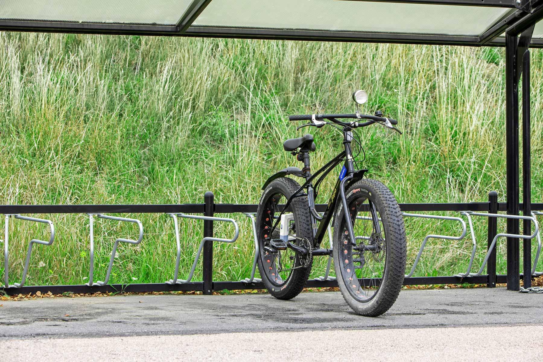 Cykelställ för fatbike