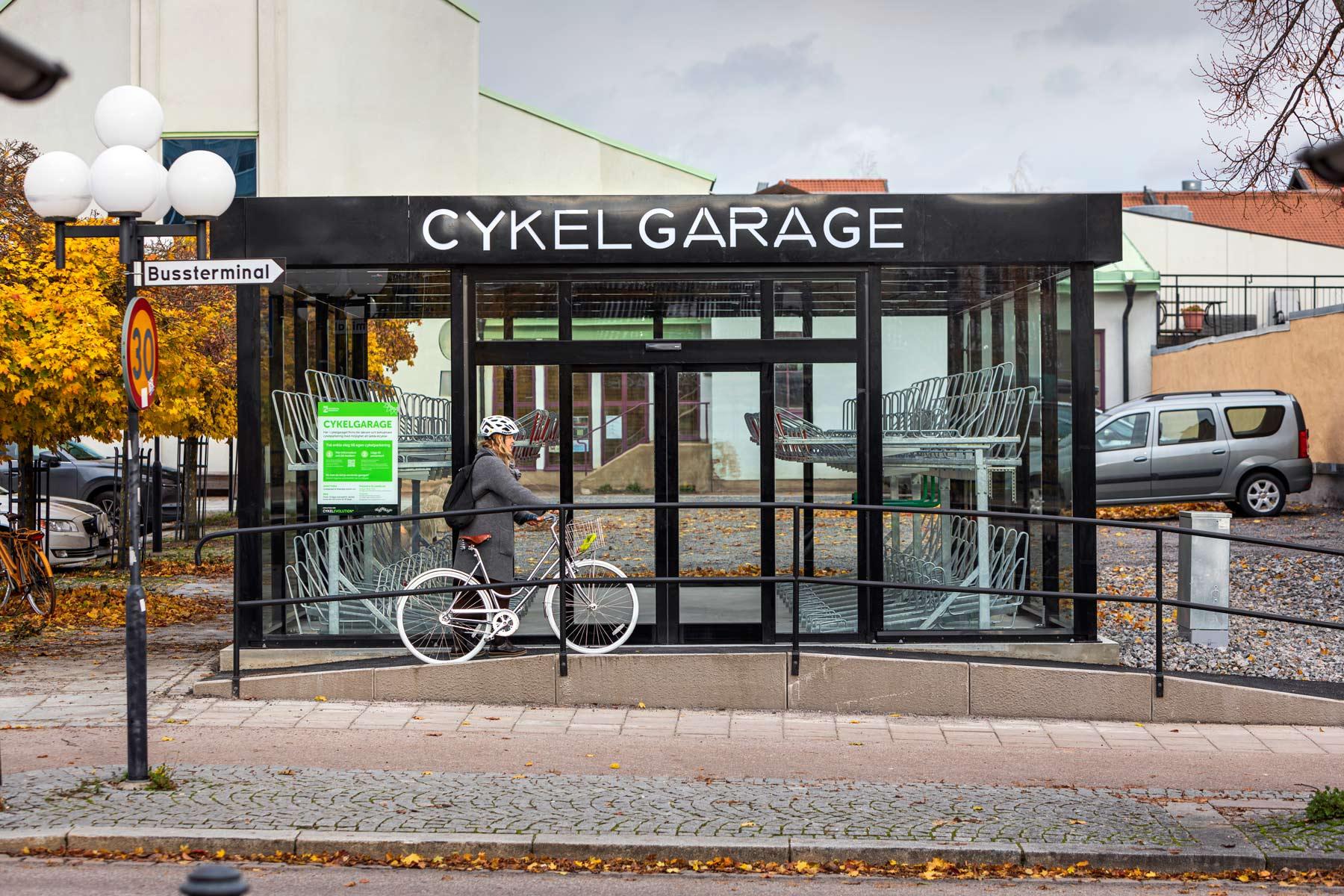 Cykelgarage LINK från Cyklos
