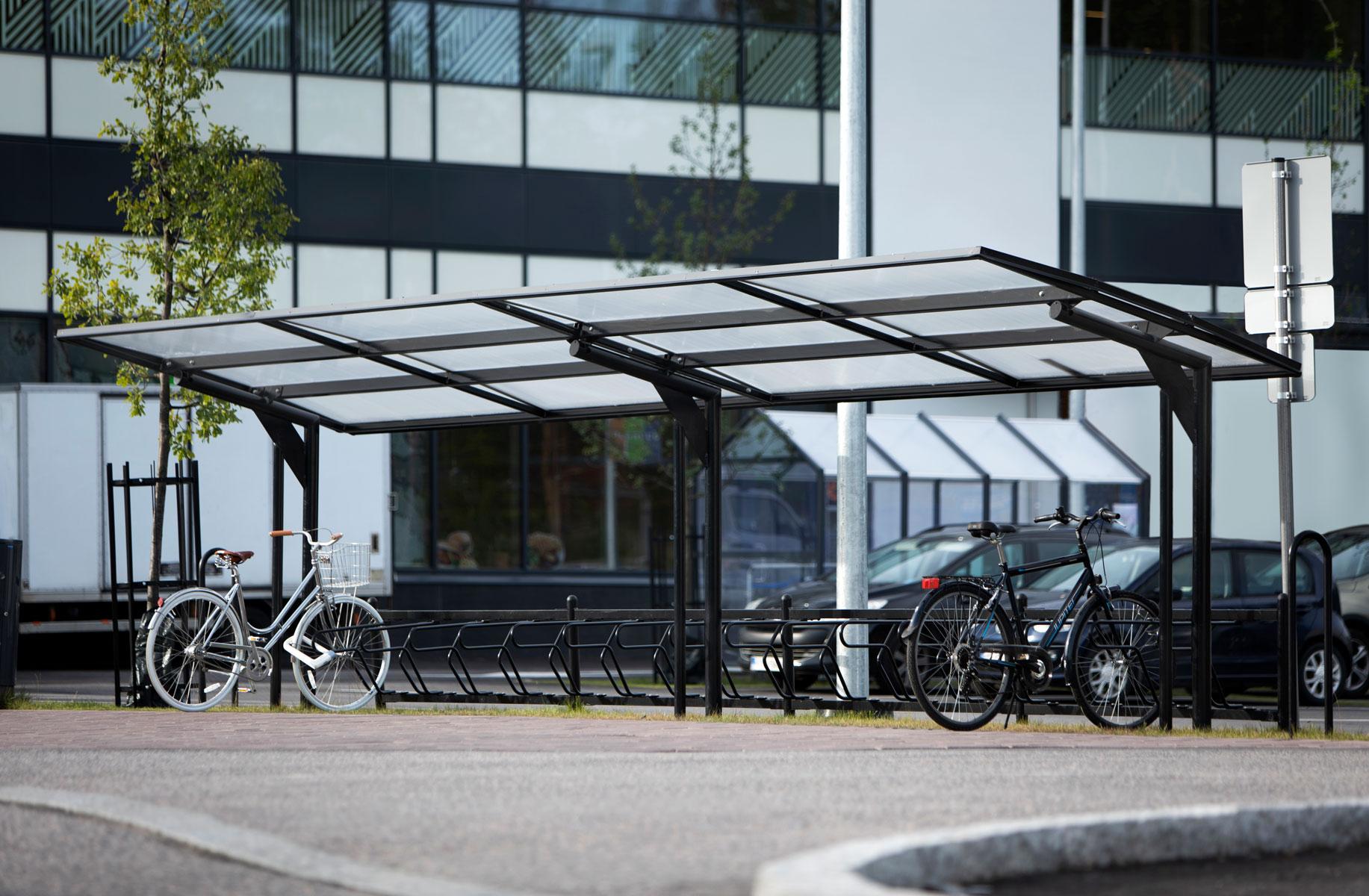 Enkelsidiga cykeltaket KAPPA från Cyklos