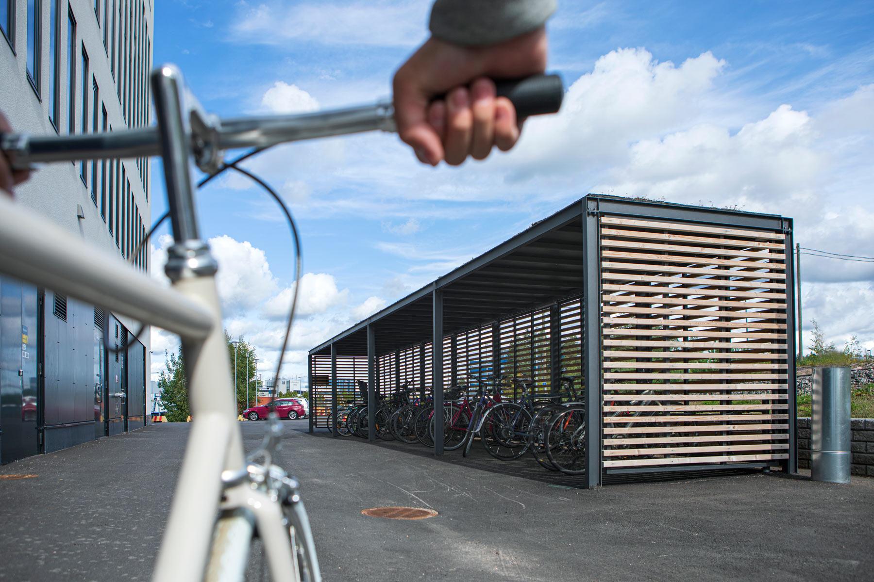 KEEP cykeltak för cyklar