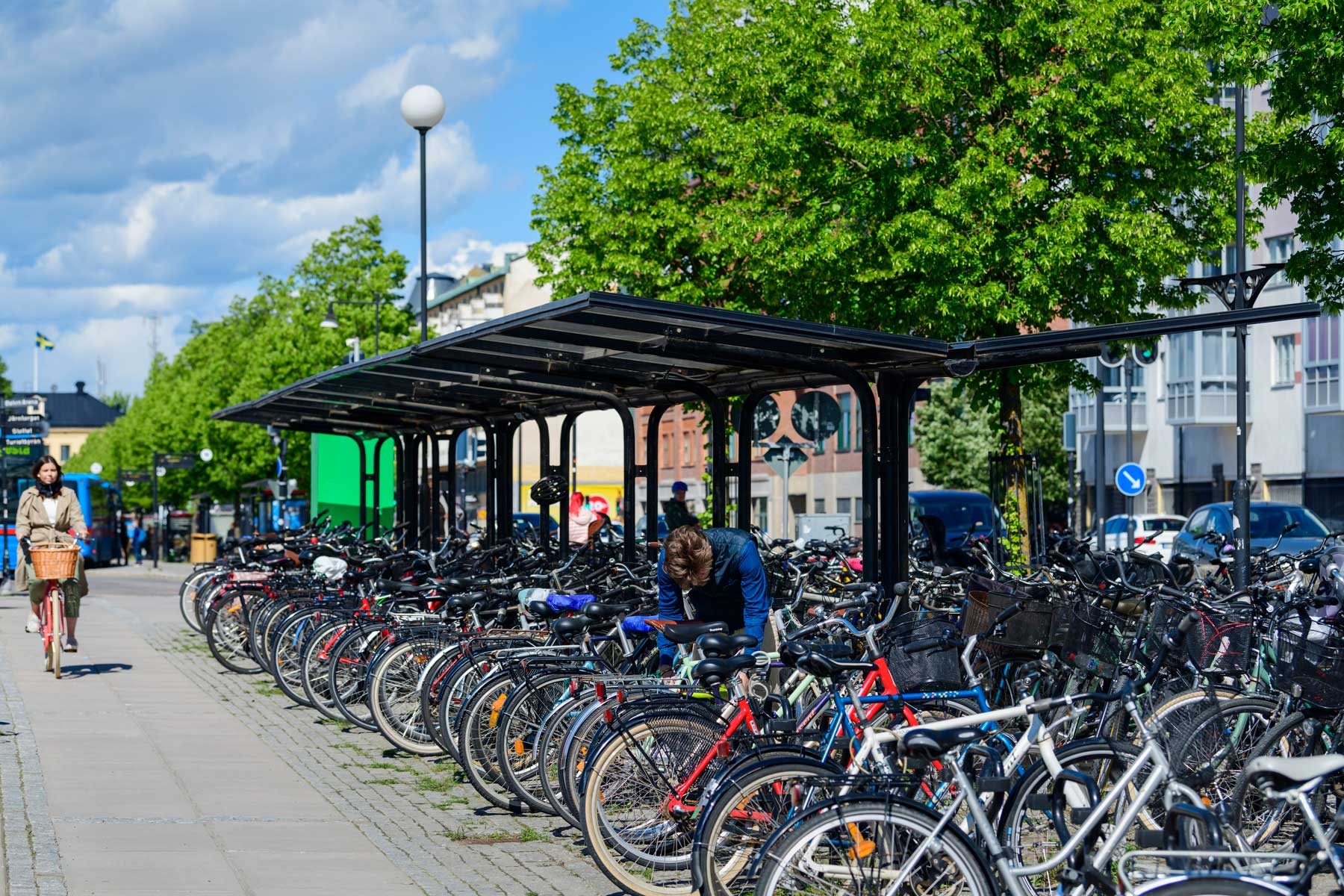 Cykeltak av högsta kvalité från Cyklos